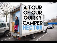Our English QUIRKY Campervan Tour of Hector - YouTube