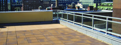 #rooftop #pavers #nicolock #commerical