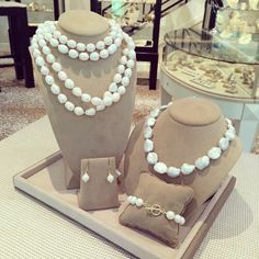 Freshwater and Baroque #Pearls! www.laurapearce.com
