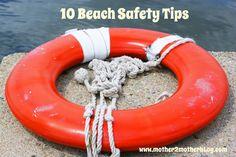 10 Beach Safety Tips