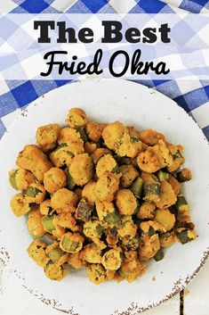 Fried Okra is one of summers best treats! It's a great appetizer or side dish, and easy to make! Includes for deep fried okra, pan fried okra and oven fried okra! Okra Recipes, Vegetable Recipes, Cooking Recipes, Healthy Recipes, Easy Recipes, Vegetable Salads, Easy Cooking, Beef Recipes, Cooking Tips
