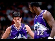 Top 10 John Stockton - Karl Malone Connections
