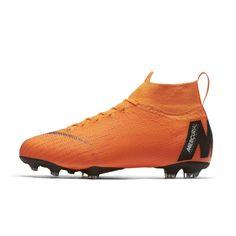 f48bf4aedc48 Chaussure De Football Nike Mercurial Superfly 360 Vi Elite Df Fg Orange  Junior - Taille :