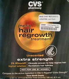 CVS Hair Regrowth treatment for men Review