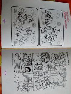 kniha - omalovánka