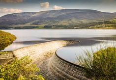 Crowden Reservoir in the Peak District, England