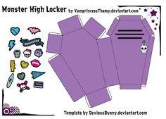 Monster High: Papercraft das bonecas Monster High