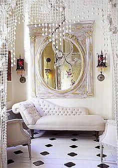 So white, so glam.................
