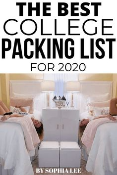 This college packing list was an absolute lifesaver for me and my daughter as she moved into her college dorm room. College Backpack Essentials, College Necessities, Dorm Essentials, Pink Dorm Rooms, Boho Dorm Room, College Dorm Rooms, Dorm Room Checklist, College Packing Lists, Dorm Room Designs
