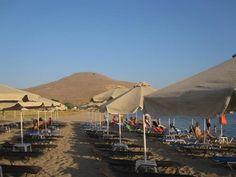Beach at Plati ,Lemnos greece