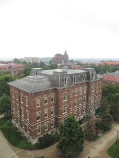 One of this recruiter's FAVORITE buildings -- University Hall – building began in 1871 (dedicated in 1877) and is the only building remaining of the original six-building campus. John Purdue grave is directly east. Picture view from BRNG Hall.