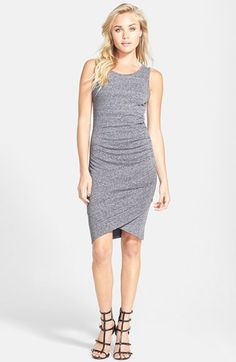Tildon Ruched Body-Con Tank Dress available at #Nordstrom