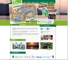 Community website design for Old Mutual Om Die Dam Marathon Design Agency, Peace Of Mind, Service Design, Marathon, Community, Education, Website, Studio, Marathons
