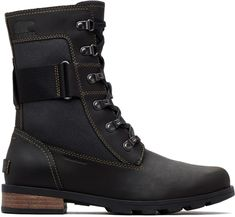 Sorel Emelie Conquest Boots at rei.com for $160, waterproof leather with removal memory EVA footbed. Muck Boots, Combat Boots, Shoe Boots, Women's Shoes, Comfy Shoes, Casual Shoes, Fashion Boots, Sneakers Fashion, Sorel Boots Womens