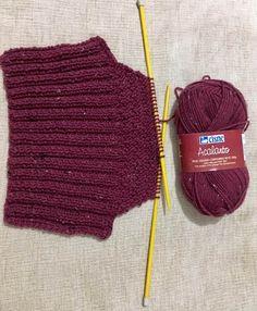 Gola Charme Knitting Needles, Hand Knitting, Knitting Patterns, Crochet Patterns, Knitted Balaclava, Knitted Hats, Crochet Stitches, Crochet Hooks, Bernat Softee Chunky Yarn