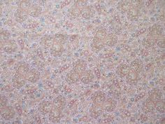 Pastel Paisley Fabric - OOP  - Peter Pan - 100% Cotton - 1 Yard only