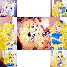 Blondie Locks Collage~