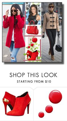 """set 43"" by fahirade ❤ liked on Polyvore featuring Love Moschino and Topshop"