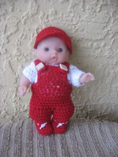 """Itty Bitty Baby Doll Clothes pour 5 """"Berenguer Doll"""
