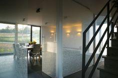 Antoons glas - Glazen deuren Divider, Bathtub, Doors, Interior, Furniture, Home Decor, Corning Glass, Standing Bath, Bathtubs