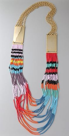 Fun beaded necklace