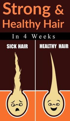 Strong And Healthy Hair In 4 Weeks #hair #haircare #haircareroutine #hairgrowth #hairgrowthtips #hairloss #hairlosscauses #beauty #beautytips #selfcare #selfcaretips #healthyhair