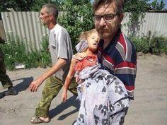 Девочка с Донбасса, убитая украинцами