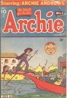 Archie 10, Archie Comic Publications, Inc. https://www.pinterest.com/citygirlpideas/archie-comics/