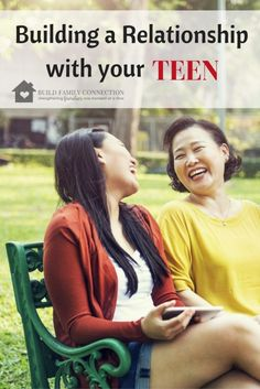 Taking the time to build a great relationship with your teen will definitely pay off during the hard times with them.