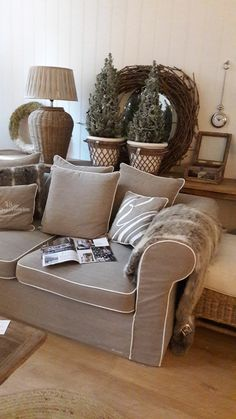 Riviera Maison - Lilly is Love Sweet Home, Cottage Plan, Scandi Style, Living Room Grey, Rustic Chic, Window Coverings, Holidays And Events, Neutral Colors, Blog