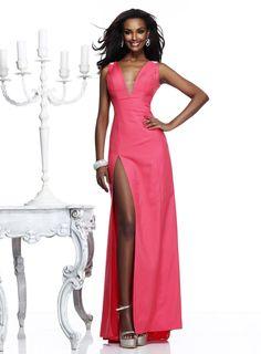 bridalup.com SUPPLIES Dressy Trumpet/Mermaid V-Neck Floor-Length Prom Dress Evening Dresses 2014