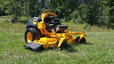 2012 Wright ZK61 Stander Commercial Zero Turn Hydro Kawasaki 31HP Lawn Mower  #Exmark