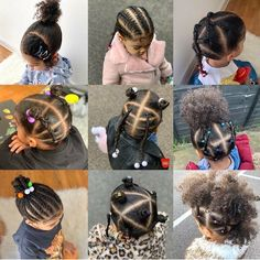 Mixed Baby Hairstyles, Little Girls Natural Hairstyles, Toddler Braided Hairstyles, Kids Curly Hairstyles, For Elise, Curly Hair Styles, Fashion, Little Girl Hairdos, Plaits Hairstyles