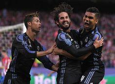@RealMadrid #Cristiano Ronaldo, #Casemiro e #Isco #UCL #Champions #LigadeCampeones #ChampionsLeague #DerbideMadrid #DerbiMadrileño #AtletiRealMadrid #ElDerbi #RealMadrid #HalaMadrid #RMUCL #Merengues #Blancos #RMDerbi #HalaMadridyNadaMás #APorLa12 #9ine