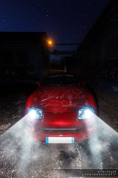 Photo Toyota Supra by Night by Yannick Soler on 500px Toyota Supra Mk4, Tuner Cars, Trd, Night, Car Stuff, Photography, Japanese, Dreams, Awesome