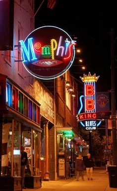Beale Street...I dont care, I will always love this dirty nasty scandolous street.