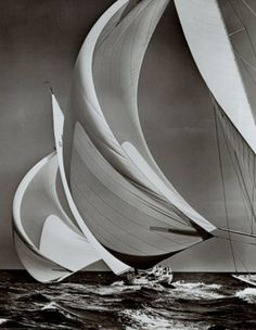 sailingshots: Maybe the most famous sailing photo of all time.