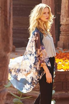 Palolem Kimono #Anthropologie
