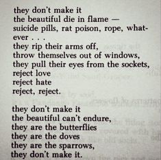 nobody can save you but yourself bukowski poem Words Quotes, Life Quotes, Sayings, Deep Quotes, Charles Bukowski Poems, Writing Words, Writing Help, Grunge Quotes, Literature Quotes