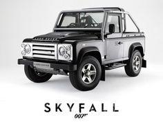 Land Rover Defender to Star in New Bond Film 'Skyfall'