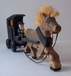 Horse Driven Buggy by DayJahView on Etsy, $48.00