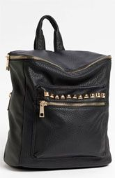 BP. Studded Faux Leather Backpack