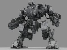 3d battle robot