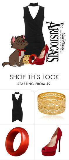 """""""Disney - Toulouse the aristocats"""" by iristaha ❤ liked on Polyvore featuring WearAll, Disney and Casadei"""