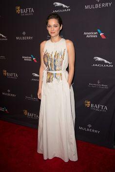 "Marion Cotillard in Bottega Veneta Best Actress nominee, ""Two Days, One Night"" [Photo by Tyler Boye]"