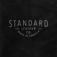 "81 Likes, 1 Comments - @cam_oden on Instagram: ""Work made under the name @standardleatherco"""