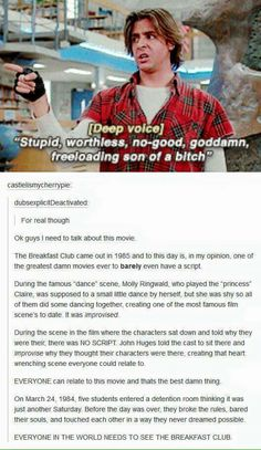 Quotes movie classic breakfast club 51 Ideas for 2019 Movies To Watch, 80s Movies, Good Movies, Movie Tv, Greatest Movies, Throwback Movies, Movie Club, Indie Movies, Action Movies