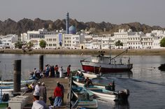 Muttrah, Oman | Fishing Port. view on Fb https://www.facebook.com/OmanPocketGuide credit: Andrea Moroni