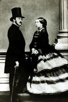 Queen Victoria andPrince Albert of Saxe-Coburg and Gotha