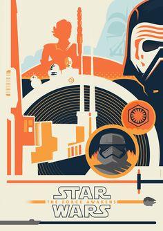 Star Wars: The Force Awakens Poster Spy Entry by Jurassickevin on DeviantArt Star Wars Decor, Star Wars Art, Street Art, Fanart, War Film, Episode Vii, Star Wars Pictures, Alternative Movie Posters, Star Wars Poster